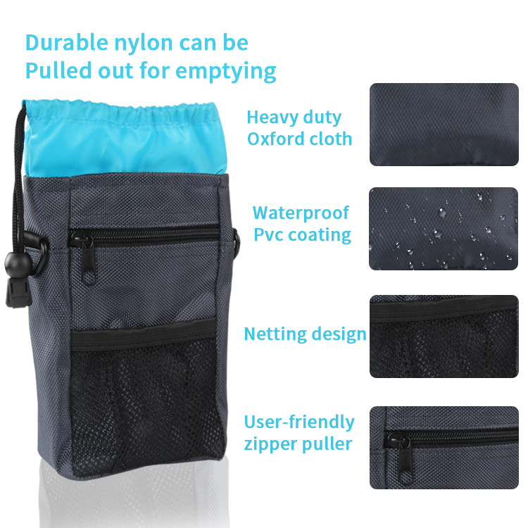 Amazon Hot Sale Pet Dog Walking Food Bag Outdoor Portable Training Lightweight Small Pockets Pouch