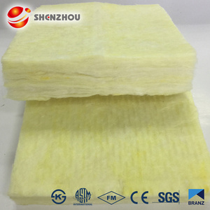 Well qualified Construction materials Fiberglass insulation with aluminium foil Soundproof glass wool