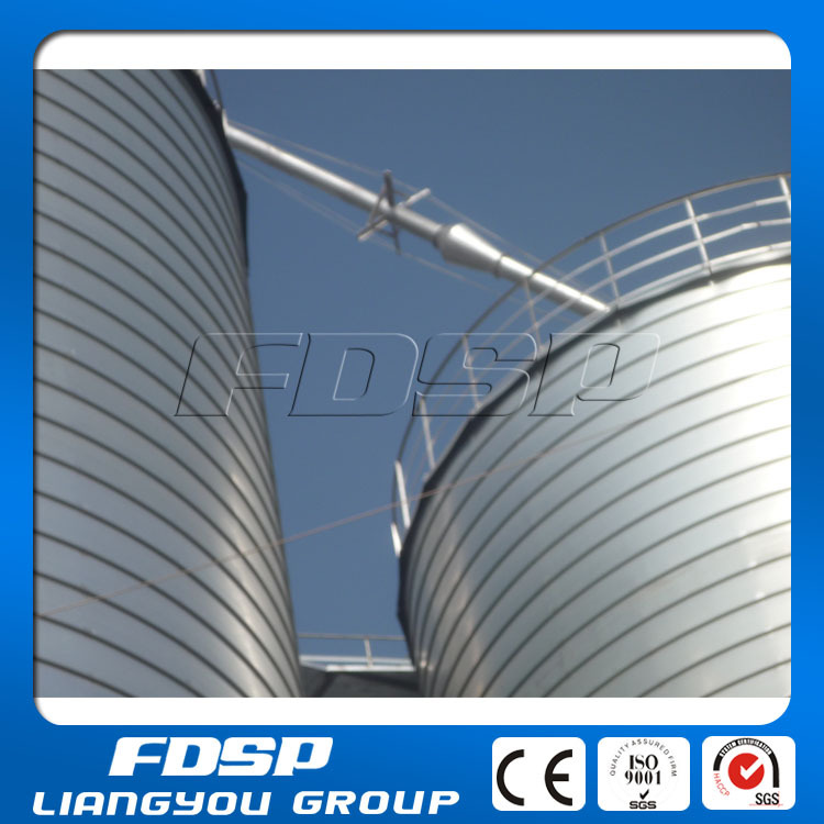 100-10000t High Quality Galvanized Steel Sbm Storage Silo Soybean ...