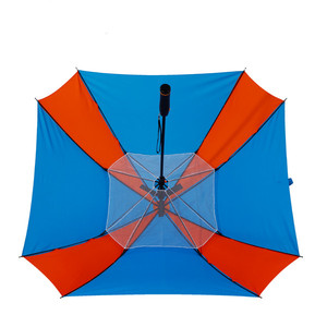 High quality big size electric sun umbrella with fan