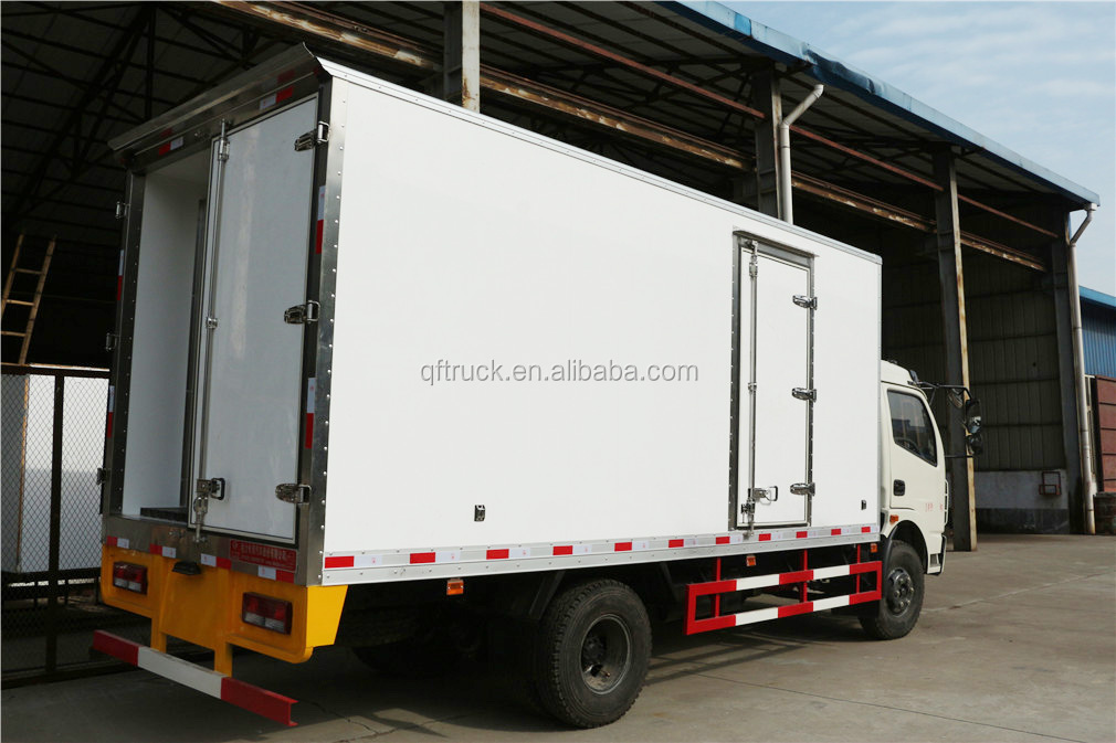 EQ5040T Dongfeng 4x2 Ice Cream Transportation Truck Body/Freezer Box Truck/Meat Trucks