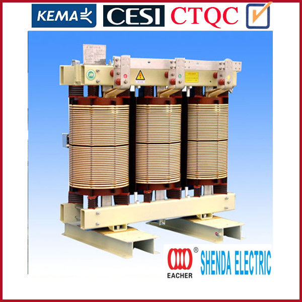 High quality epoxy resin cast dry type transformer 630kva