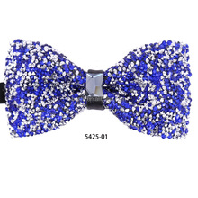 2018 Elegant Fashion Men Dimond Bowtie in Bow Ties With Box Package
