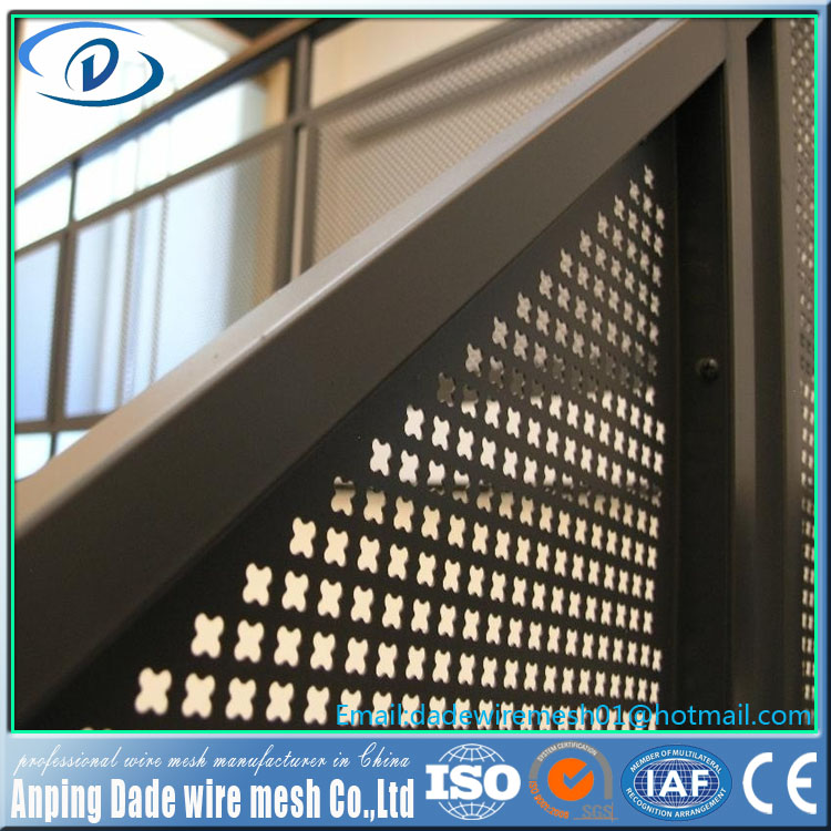 Manufacturer wholesale hole punched aluminum sheet