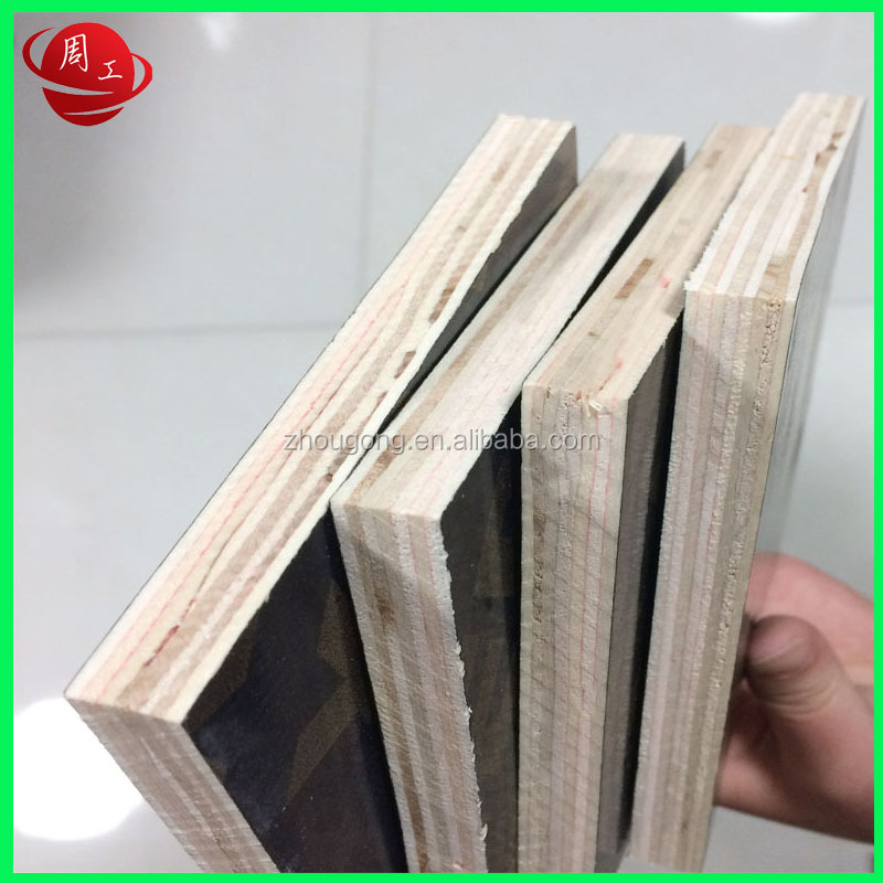 18mm phenolic film faced concrete shuttering plywood board price