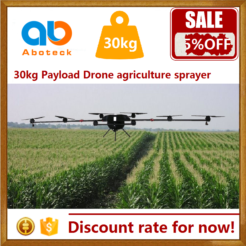 UAV drone agriculture sprayer helicopter 30kg payload with increaditable performance