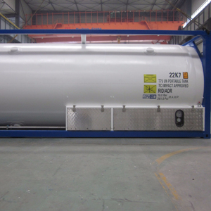 20ft Chemical/ Refrigerant Gas/ LPG ISO tank container as Sea transportation iso tank