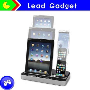 Pg Ip115 Multi Charging Station For Iphone Ipad Samsung Docking