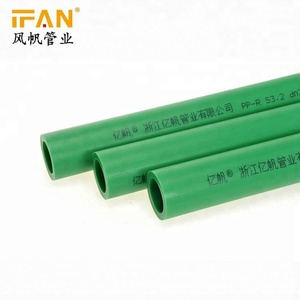 Ifan Water Supplying Plastic PPR Pipe plastic ppr food grade water pipe