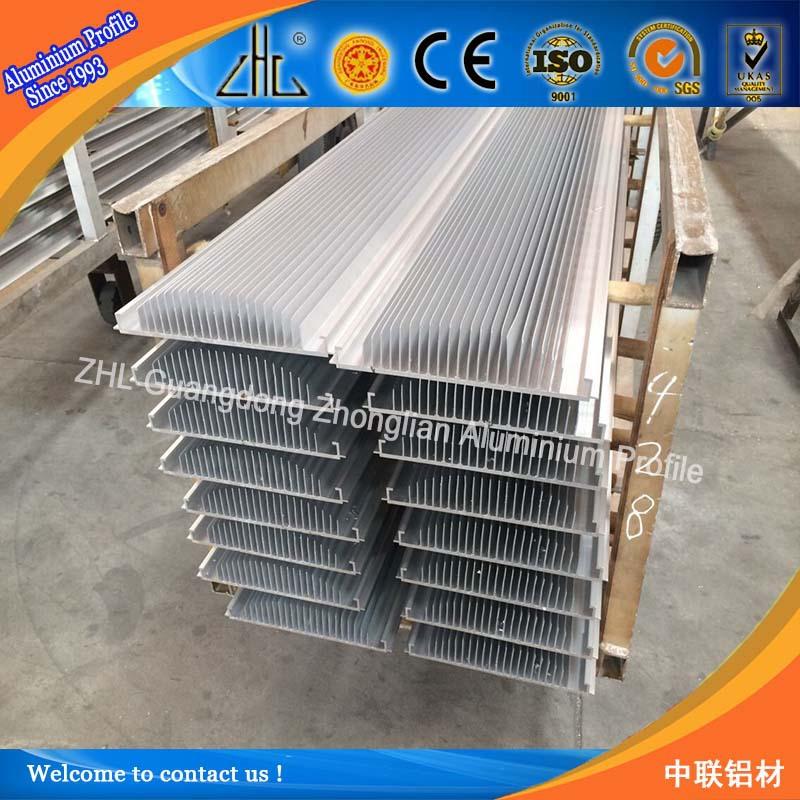 Aluminum Manufacturing Heat Sink Profile / Aluminium Radiator Oem ...