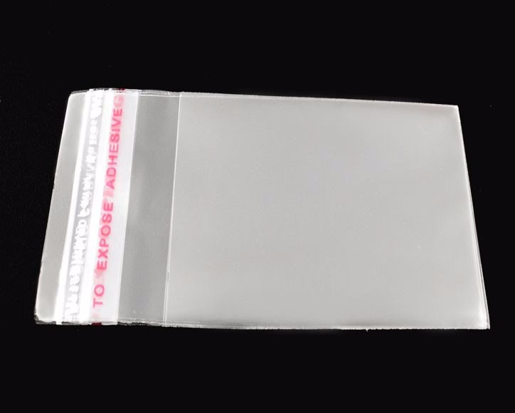 hot sale small clear transparent self adhesive seal