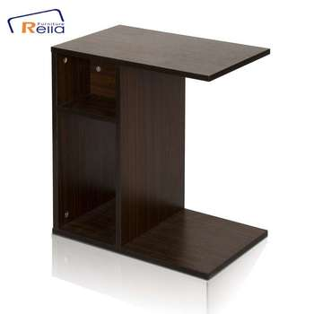 Simple Design Practical Melamine Particle Board Sofa Side End Table