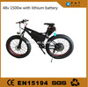 new product electric bike fat tire 26*4.0 mountain road bike