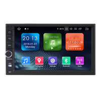Plus récent Android9.0 7 ''2Din Universel Voiture Audio Radio GPS avec 2 GRAMMES 16G ROM OBD DAB TPMS WIFI 3G etc WN7003