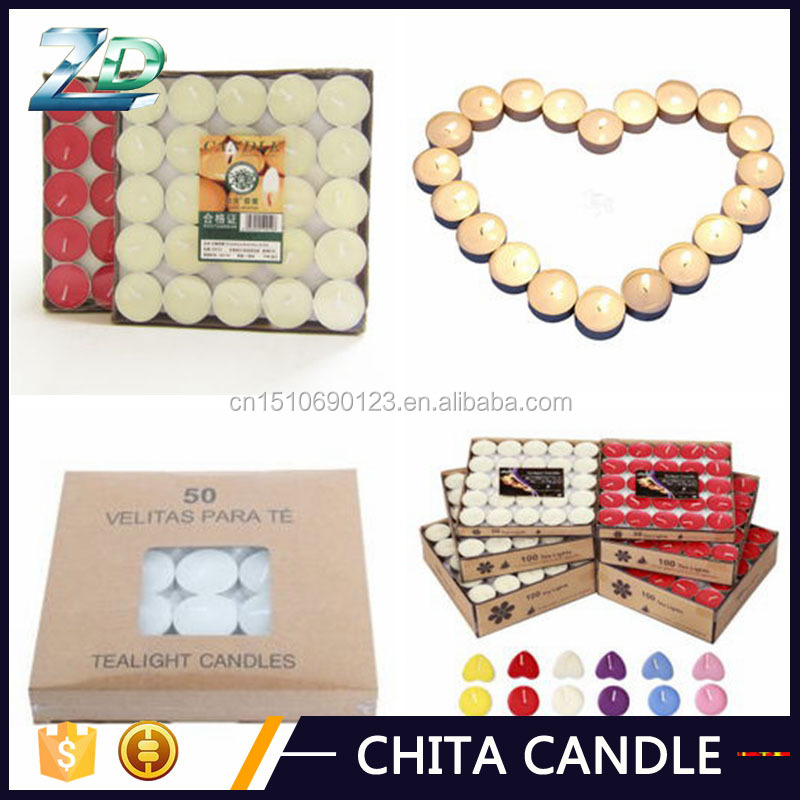 indian colorful tealight candle for decoration