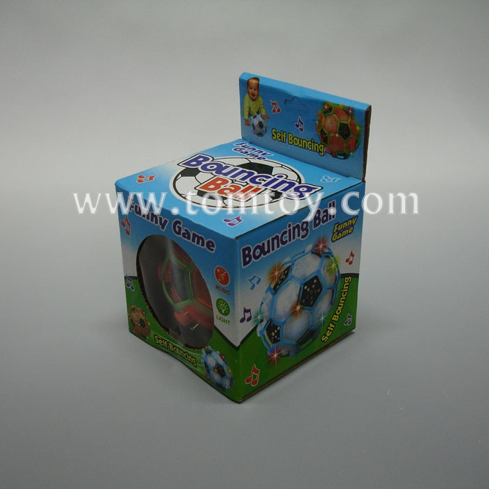 Music Light Up Spinning Soccer