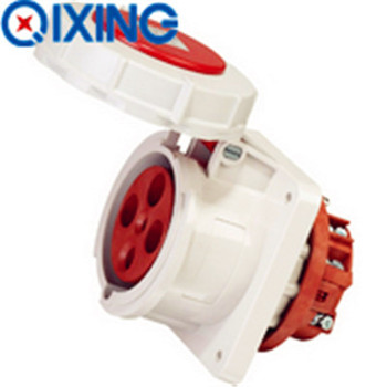 63A Floor Receptacle for Industrial Plug and Socket (QX1124)