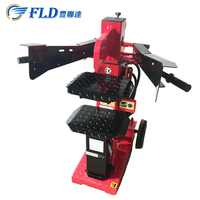China made cheap red used 6L mini vertical type wood log splitter for sale in stock