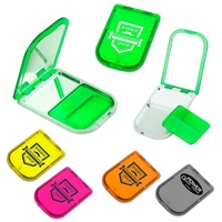 Hot sale inexpensive price OEM logo multi-function costomic makeup daily use pocket green color plastic portable comb mirror
