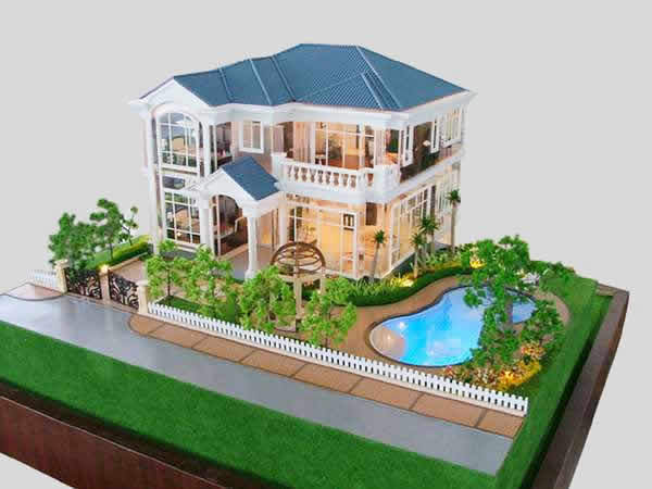 Tremendous Residetial Model For Developer 1 100 Scale Villa Miniature Model Largest Home Design Picture Inspirations Pitcheantrous