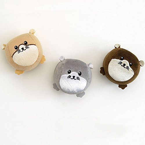 "Bits and Pieces - Hamster Juggling Balls-Fun Juggling with Laugh and Giggle - Each Hamster Ball Measures 3-1/4"" in diameter"