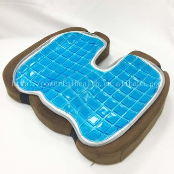 Cooling Gel Pad Foam Seat Cushion Premium Ultra Soft High Comfort