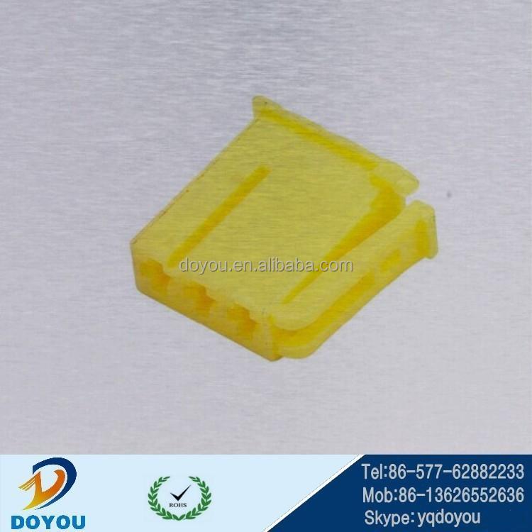 14473 Yellow Plastic Pbt Automotive Electrical Connectors 3pin ...