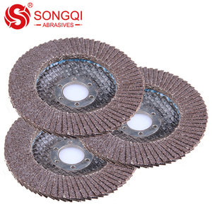 Silicon carbide abrasive tools mesh cover flexible flap disc grinding wheel