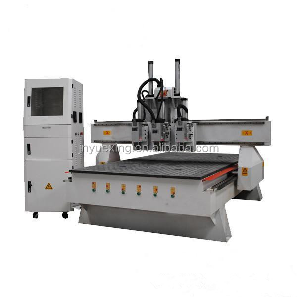 4.5KW spindle high precision cheap Pneumatic tool change ATC 1325 cnc router wood carving machine for sale