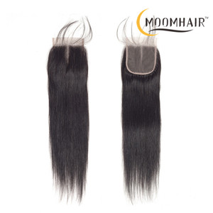 100% unprocessed brazilian hair front lace closure natural human hair closure