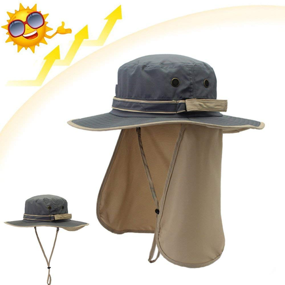 da635c0834d Buy Summer Outdoor Mens Womens Big Brim Sun Hat UV Protection Quick ...