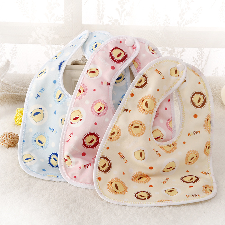 Best price of baby bibs 2017 organic cotton With Long-term Service