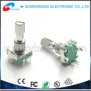 Incremental metal shaft rotary encoder 11mm absolute rotary encoder
