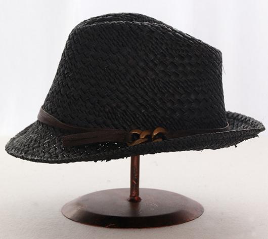 e8b7b182dad Custom Fashion Panama Straw Hats summer hats Wholesale Beach men straw  fedora hat