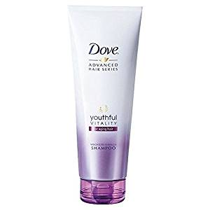 Dove Youthful Vitality Shampoo for Aging Hair 250ml (PACK OF 2)