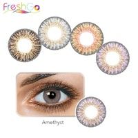 Freshgo Hot-Selling 3 Tone Colored Eye Soft Contact Lenses Wholesale Color Contact Lens