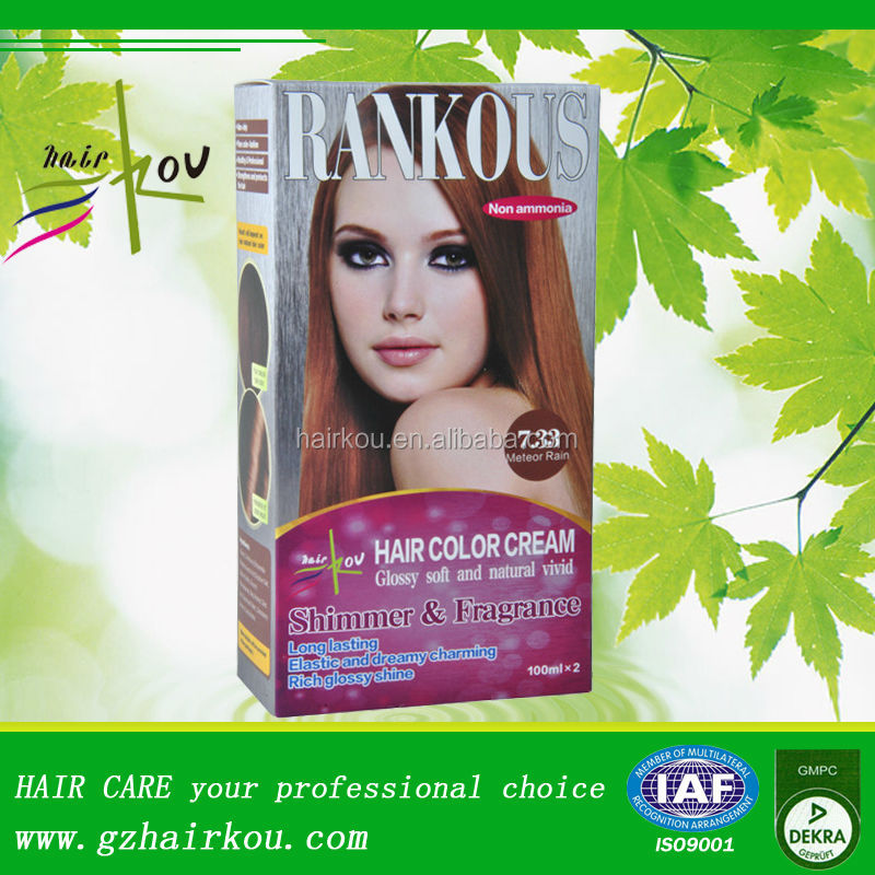 Professional Cream Burgundy Hair Color For Home Use Buy Hair Color