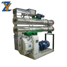 380V 1-3 t/h ring die sinking fish rabbit feed pellet mill for poultry raw material cutting