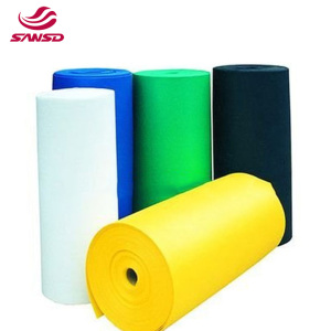 EVA/PE foam roll soft and strong Solid Black Color Universal EVA Foam Material For Shoe Manufacturing In Roll Packing EVA Materi