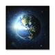 The earth LED lighted picture led canvas painting art wall art light up led canvas painting