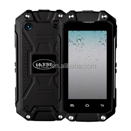 Dropshipping cheap price new products IP65 Waterproof J5+ android phone with Android 5.1 MTK6580 Quad Core Double SIM OTG GPS