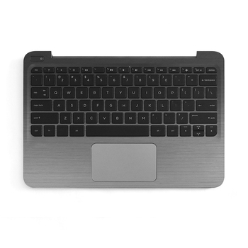 Laptop Palmrest For HP STREAM Top Case With Keyboard & Trackpad 832490-001 Aluminum Replacement