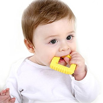 New Food Grade Baby Teether Silicone Teething Toys for Soothing Gum