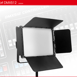 Dongguan Tolifo 60w Slim DMX 512 Cable Controlled Bi-Color LED Video Panel Light