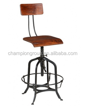 Awesome Industrial Stool Distressed Black Restaurant Metal Bar Stools Mx 0280H Buy Distressed Wood Stool Black Garden Stool Cafes Folding Swivel Stool Metal Alphanode Cool Chair Designs And Ideas Alphanodeonline