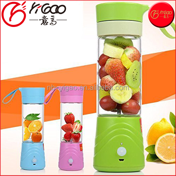 Hot Sale Mini Portable Electric USB Fruit Juicer Smoothie Maker Blender Ice Crusher