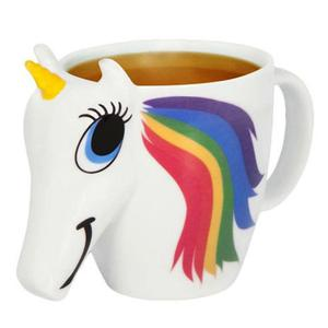 Zogift 2018 Hot Sale 3D Custom Magic Heat Sensitive Color Changing Unicorn Coffee Mug