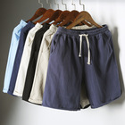 Custom Mens Board Shorts Quick Dry Solid Color Swimming Trunks Beachwear Short Pants