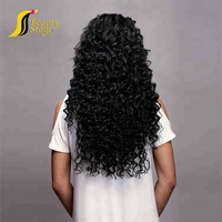 Cheap Prices 100% virgin bouncy malaysian deep curly human hair bundles,raw human hair 100 loose deep wave hair supplies