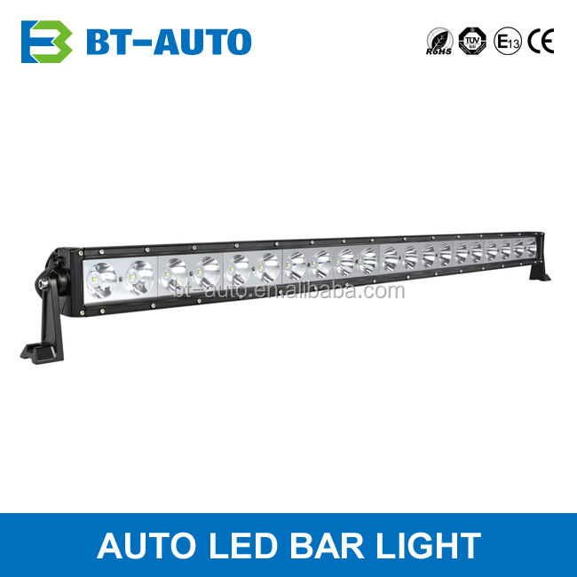CE RoHS 42 52 inch 200w Flood Spot Combo 1 Row Straight LED Offroad Light Bar